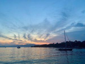 Закат Леринские острова