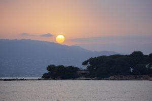 закат леринские острова канны