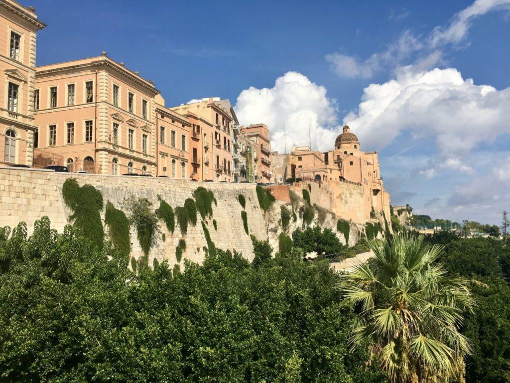 Кальяри Сардиния старый город