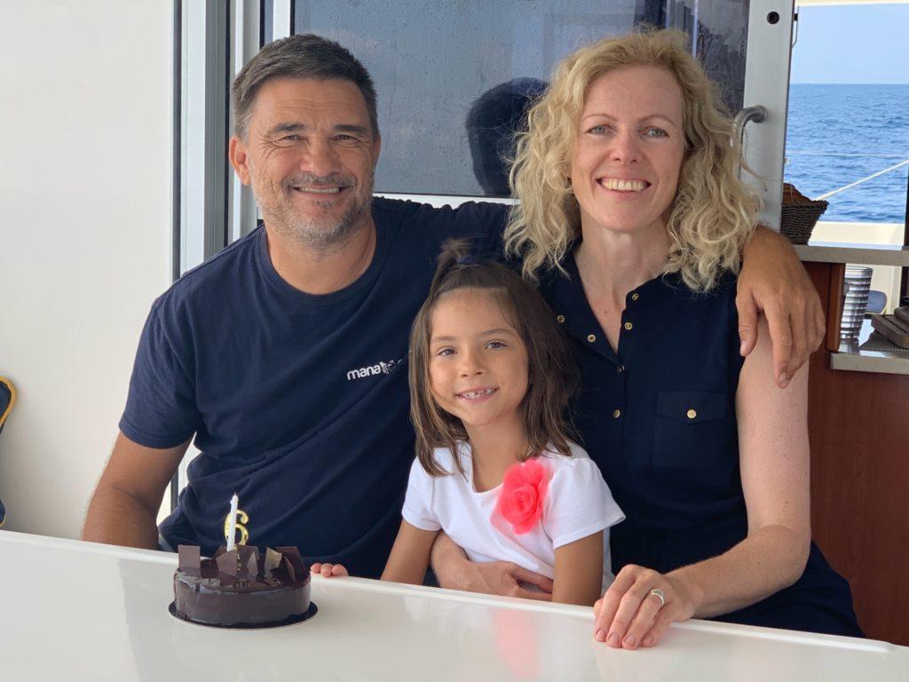 семья катамаран день рожденья