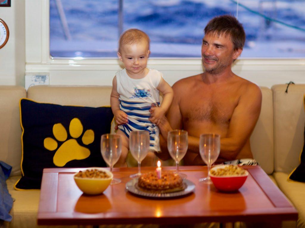 катамаран день рожденья