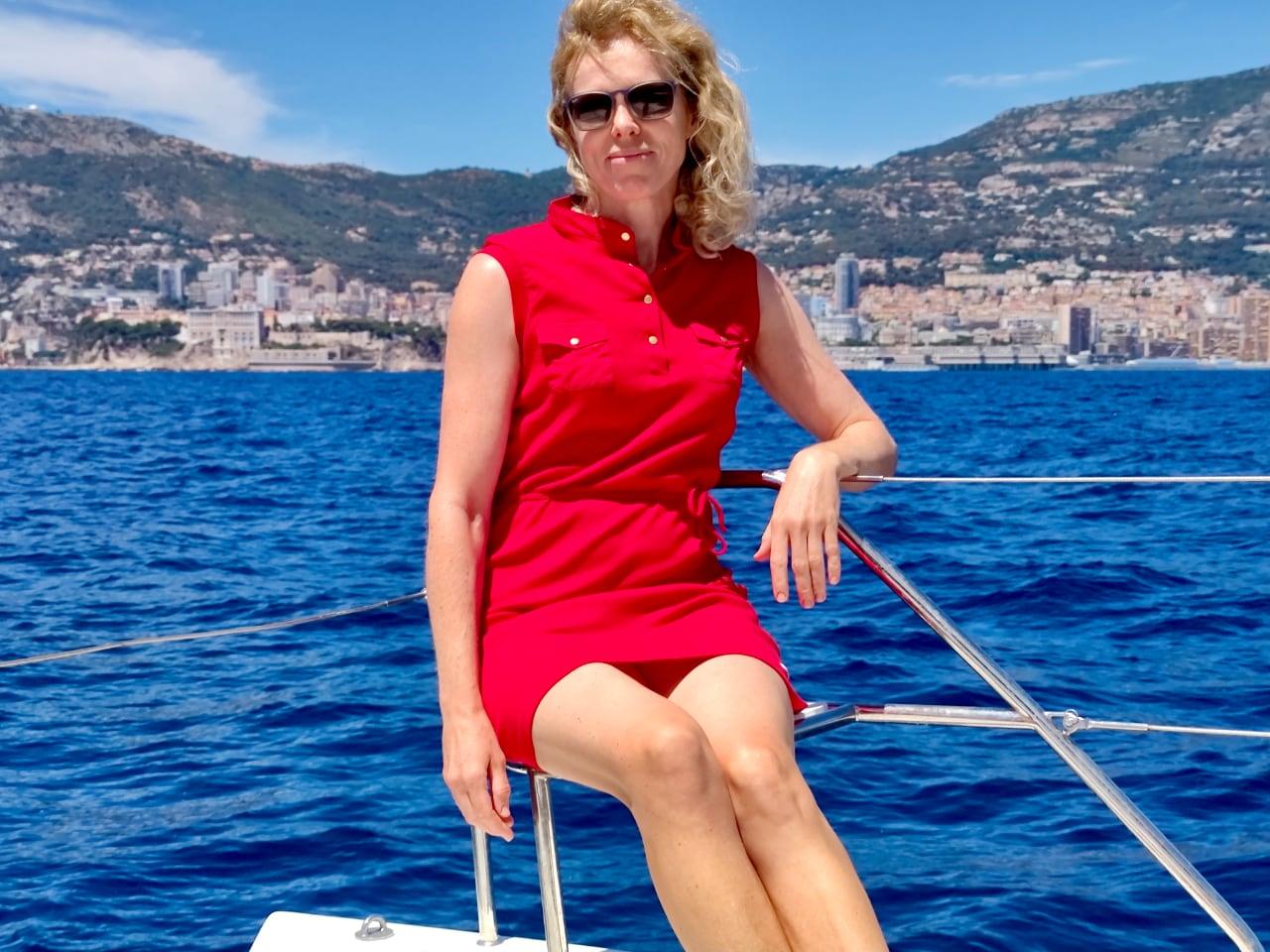 Монако с моря