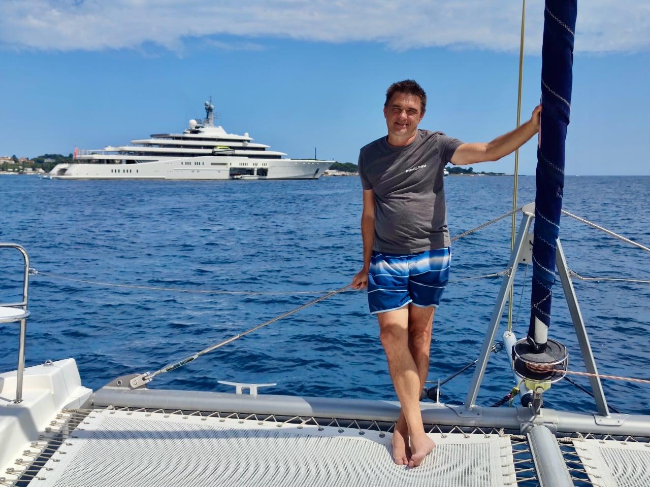 Марат яхта эклипс