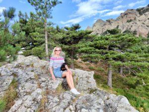 Корсика горы перевал Бавелла