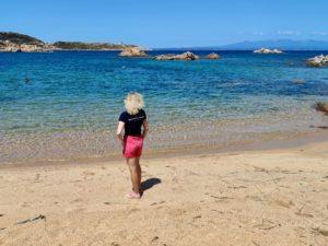 Сардиния остров Санта Мария розовый пляж