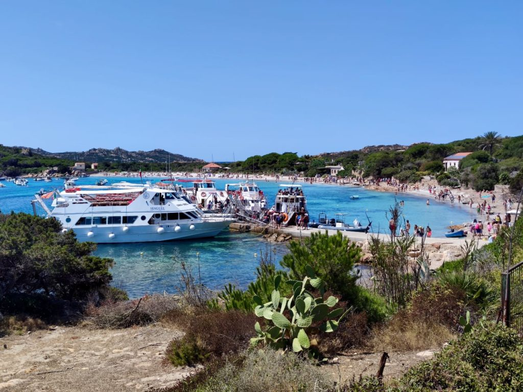 Сардиния остров Санта Мария пляж