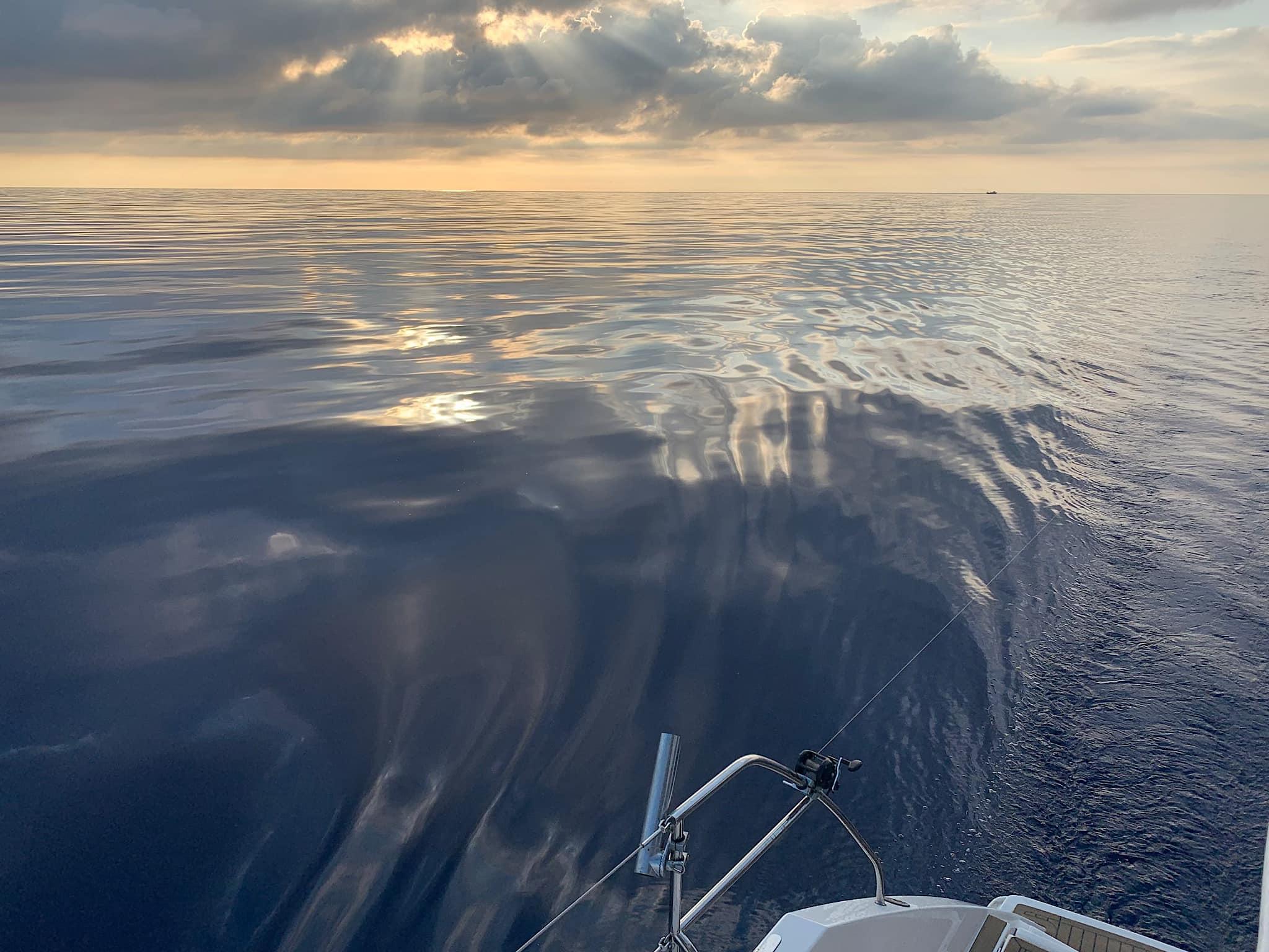 штиль море