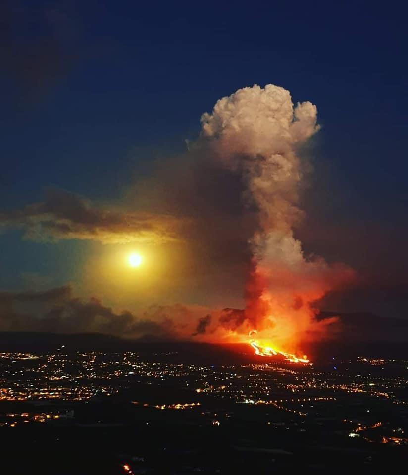 извержение вулкана ла пальма