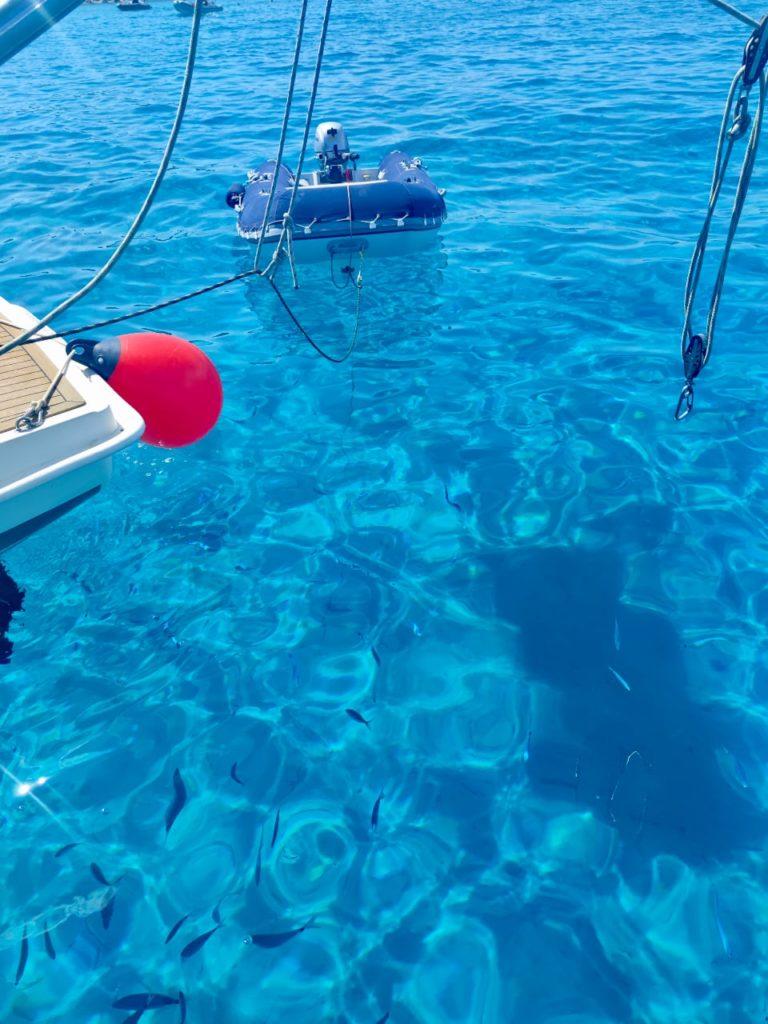 Сардиния голубое море