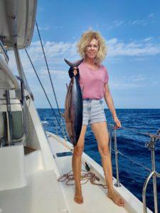 тунец улов катамаран яхтинг