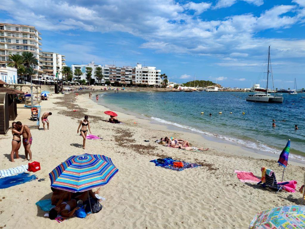 Санта Эулалия пляж