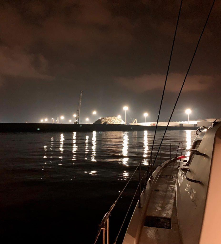 мотриль порт ночь